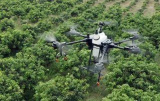 t16 drone crop dusting