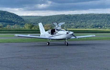 Airplane on ground