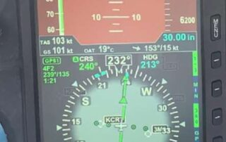 Aspen Avionics screen