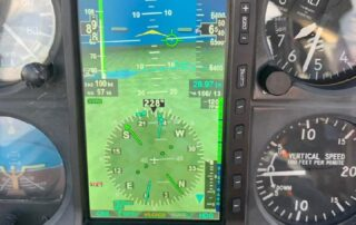 screen of Aspen Avionics