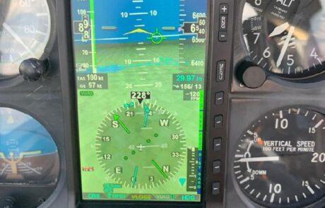 screen of Aspen Avionics